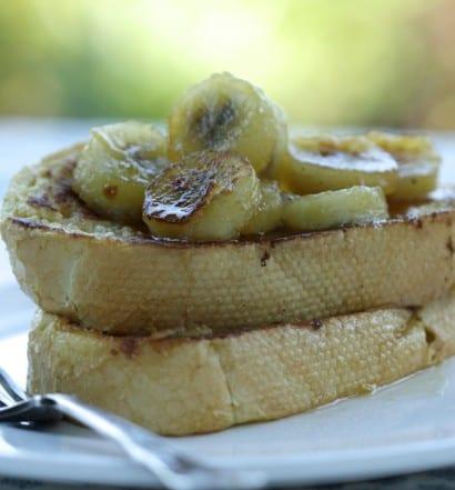 Caramelised Banana French Toast
