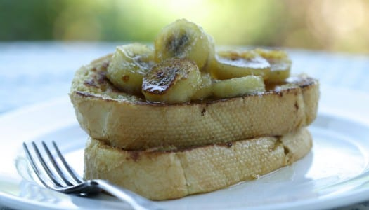 Caramelised Banana French Toast