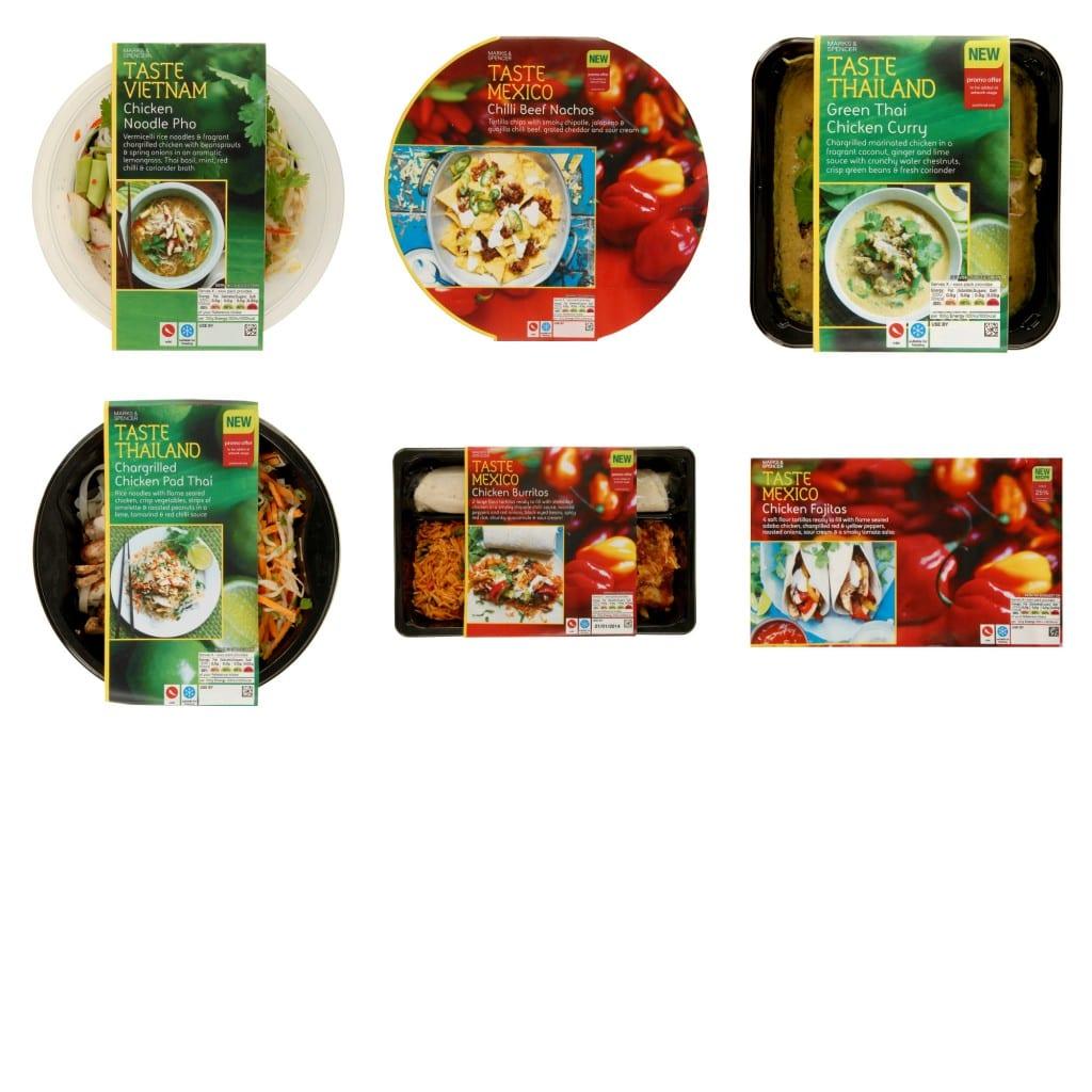 M&S Taste Range
