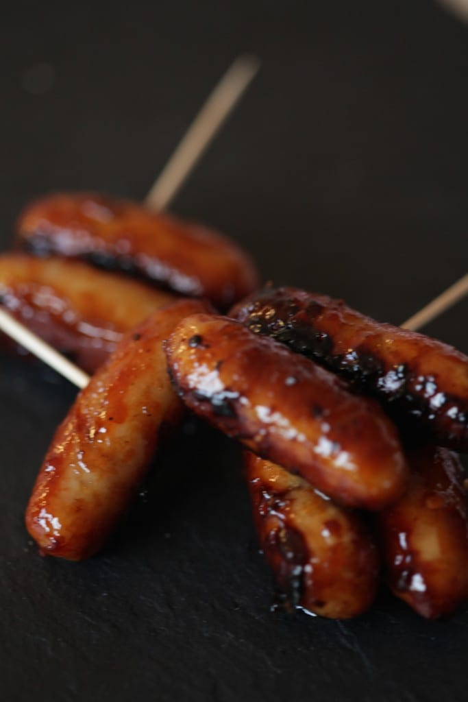 Asian cocktail sausages