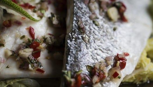 Saba Exclusive Recipe: Paleo Seabass