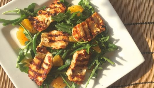 Recipe: Halloumi, Orange and Green Bean Salad