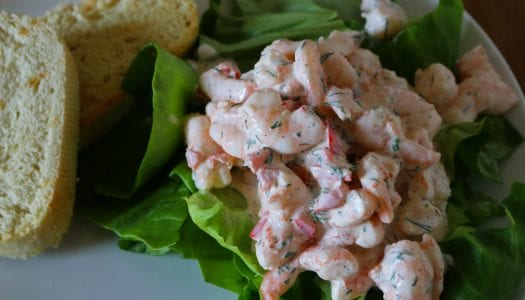 Recipe: Skagen (Scandinavian Prawn Salad)
