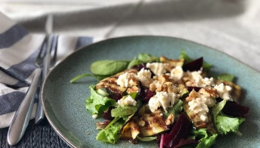 Summer Goats Cheese Salad