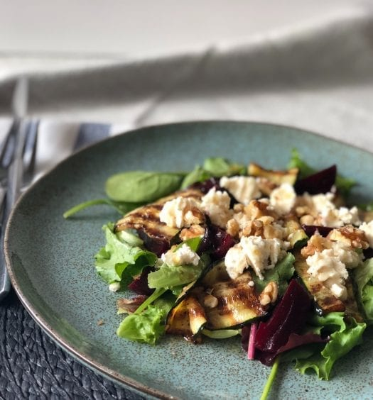 goats cheese salad recipe