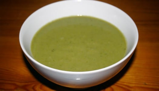 Thai Courgette Soup