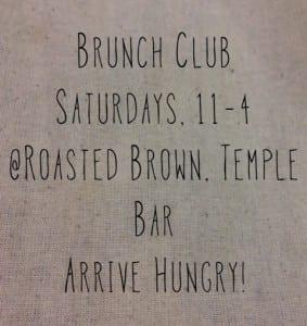 roasted brown brunch club