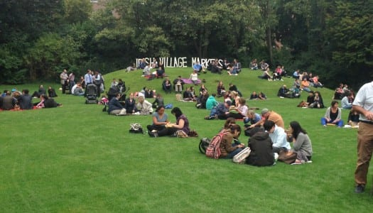 Merrion Square Lunchtime Market