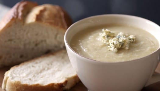 Recipe: Celeriac and Cashel Blue Cheese Soup