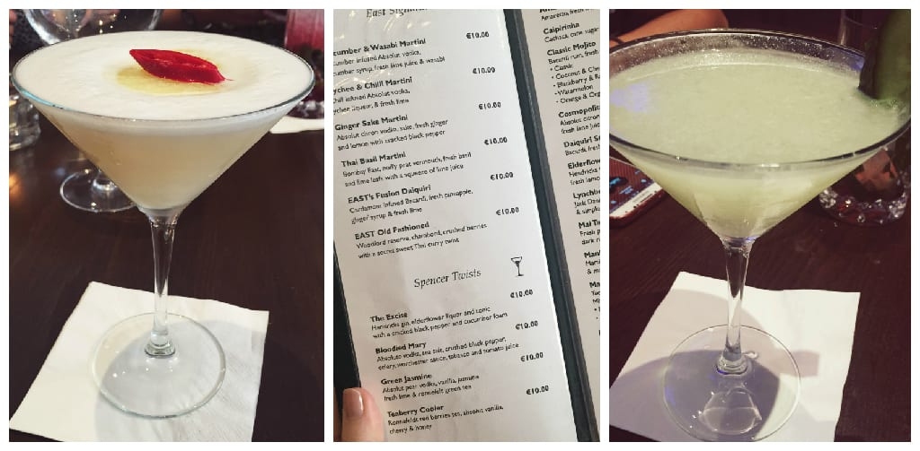 cocktails at the spencer