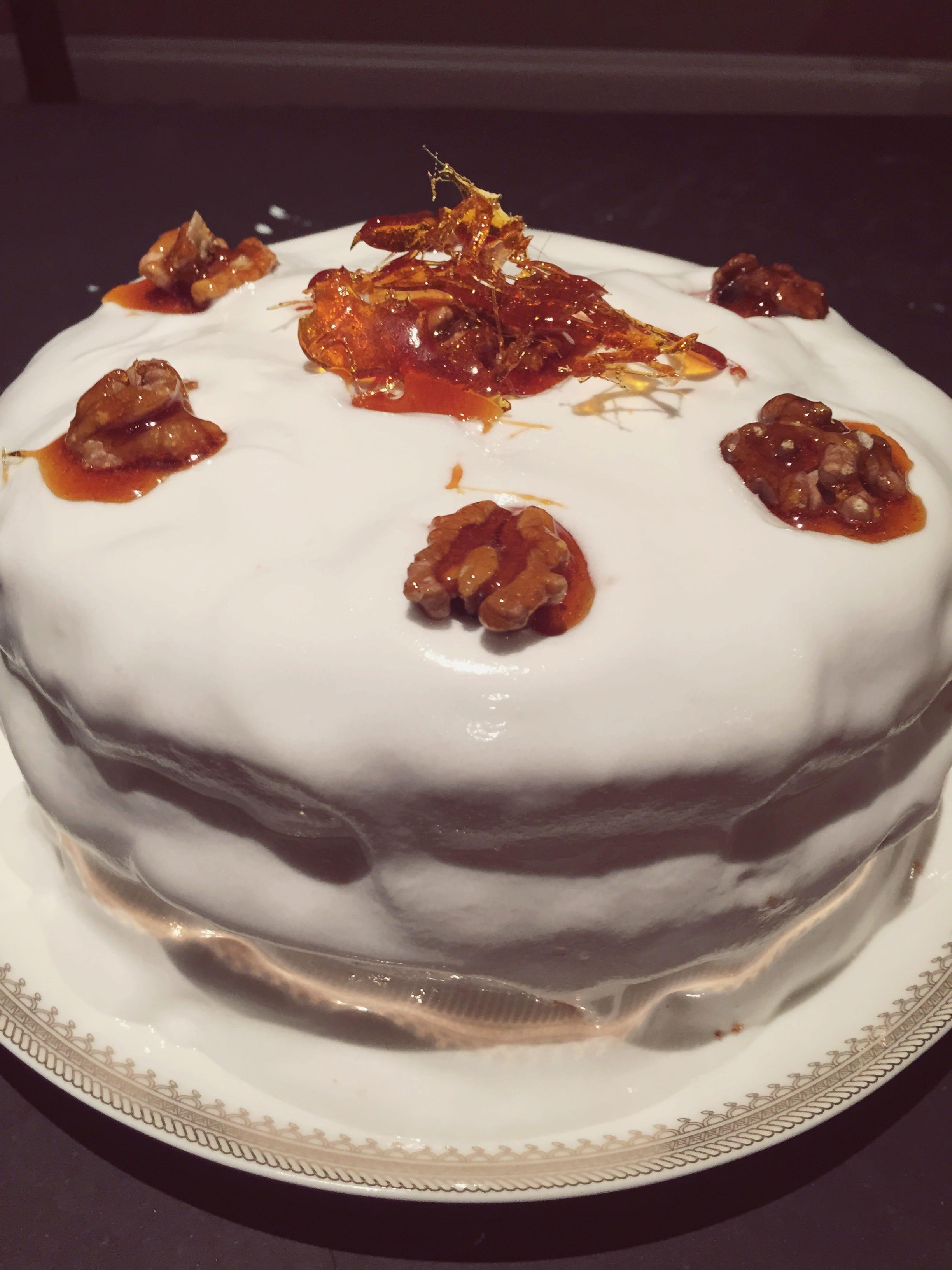 mary berry walnut cake