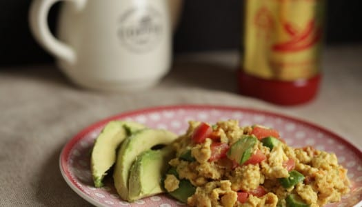 Nutrient Packed Spiced Scrambled Eggs