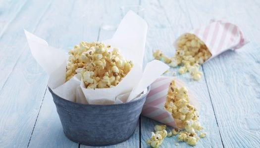 Recipe: Coconut Caramel Popcorn