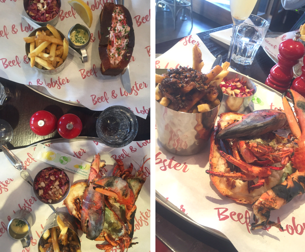 beef and lobster dublin