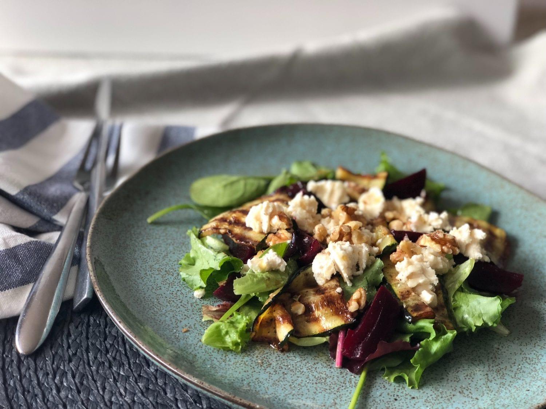 goats cheese salad recipe