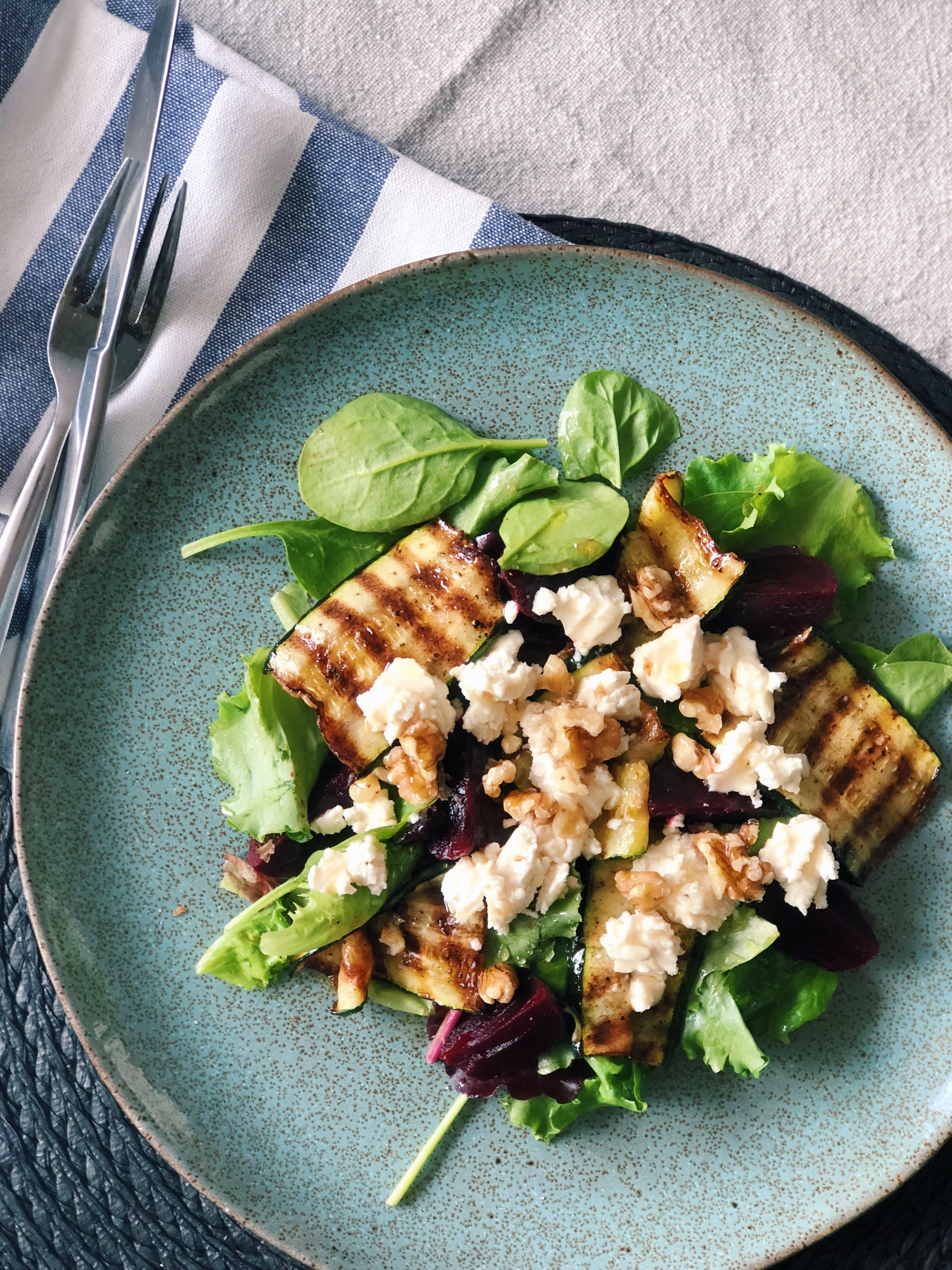goats cheese beetroot salad recipe