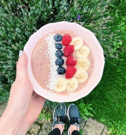 protein smoothie bowl