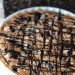 blueberry dark chocolate tart